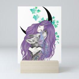 Cosmic Love Mini Art Print
