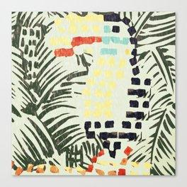 Rainforest Collage Canvas Print