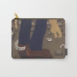 The Lottery by Shirley Jackson for Women's History Month Carry-All Pouch