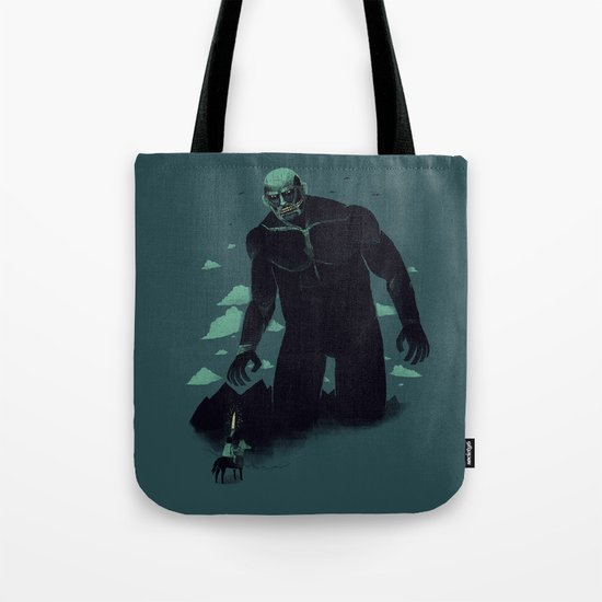 shadow of the titan Tote Bag