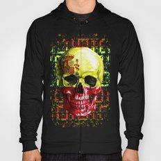digital Skull (flag of spain) Hoody