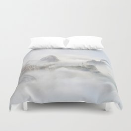 Palace of the Sky Dragons Duvet Cover