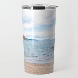 Summer landscapes around Costa Brava, impressive beachs and coastlines. Travel Mug