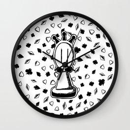 Fool Wall Clock