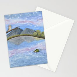 Alone Again Stationery Cards