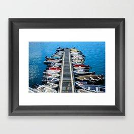 Saint Andrews Harbour Framed Art Print