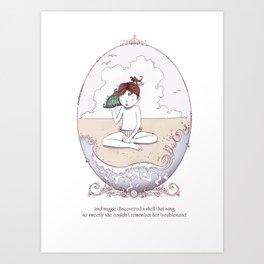 ee cummings - Maggie Art Print