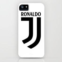 Ronaldo Juventus iPhone Case