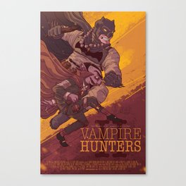 Vampire Hunters Canvas Print