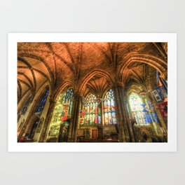 Winter Sun Cathedral Art Print