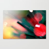 christmas tree Canvas Prints featuring Christmas tree by Eugenie