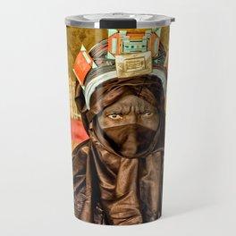 Tuareg elder, Timbuktu, Mali Travel Mug