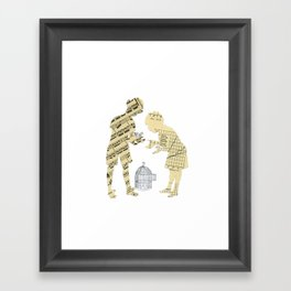 A strange world - Juan & Rodrigo Framed Art Print