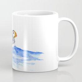 horned puffin Coffee Mug