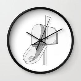 got mail Wall Clock