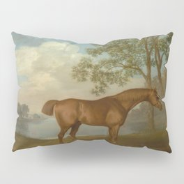 George Stubbs - Pumpkin with a Stable-lad Pillow Sham