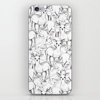 woodland iPhone & iPod Skins featuring Woodland by Lydia Meiying