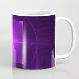 Purple Chakra Charging Coffee Mug