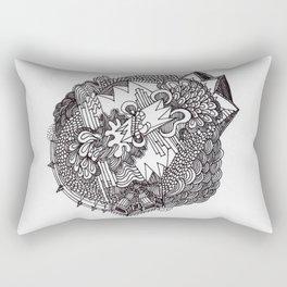 Abstract Pattern Clump II Rectangular Pillow
