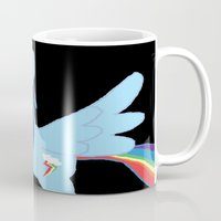 pony Mugs featuring pony by Dore