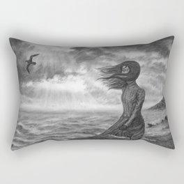 The Lighthouse Keeper's Daughter Rectangular Pillow