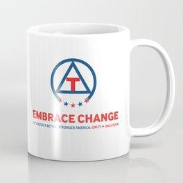 Embrace Change: Unity + Inclusion Coffee Mug