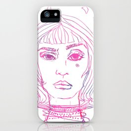 Barbarella Space Princess iPhone Case