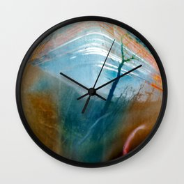 the sun is out there (pinhole camera) Wall Clock