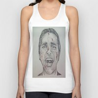 american psycho Tank Tops featuring American Psycho by A.H.