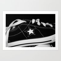 shoe Art Prints featuring shoe by KimberlySS