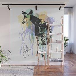Okapi Wall Mural