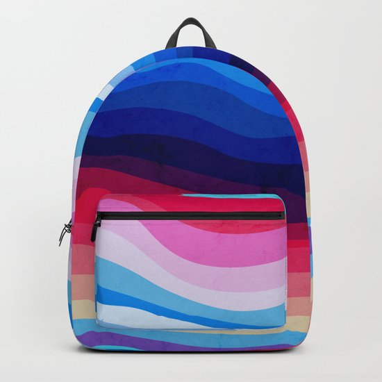 Melted Rainbow Backpack