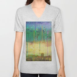 Atlante / CITIES over CITIES Unisex V-Neck