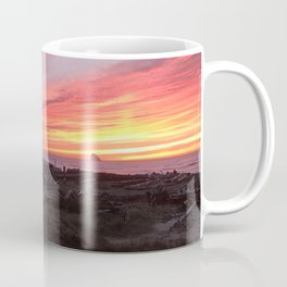 Gerry the Seagull at Sunset Coffee Mug