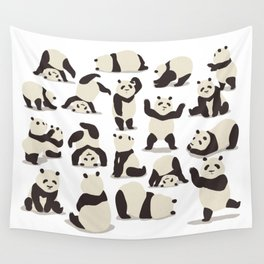 Pandas Party Wall Tapestry