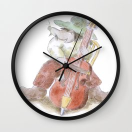 Gyspy Mouse Stamp Wall Clock