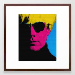 01 Controversial series  Framed Art Print