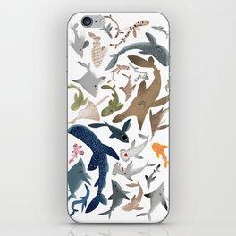 "FINconceivable Still ""Sharks"" iPhone Skin"