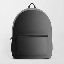 Black to Gray Vertical Bilinear Gradient Backpack