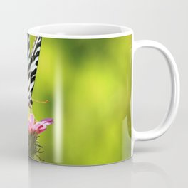 "Zebra Swallowtail ""Breakfast in the Garden"" Coffee Mug"