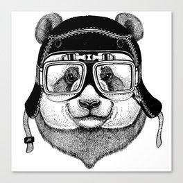 Panta Helmet and glasses Canvas Print