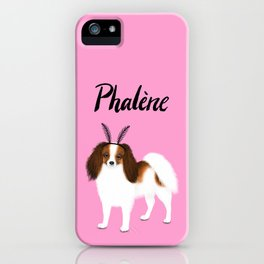 Phalène (Pink) iPhone Case