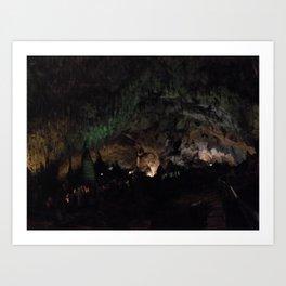 Carlsbad Caverns II Art Print