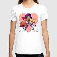 powerpuff girls T-shirts featuring PowerPuff  by Mickey Spectrum