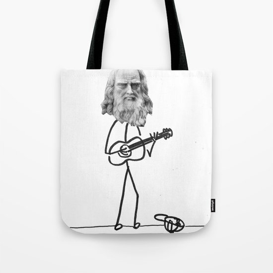 the struggling artist Tote Bag