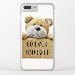 Go F#ck yourself with Clear iPhone Case