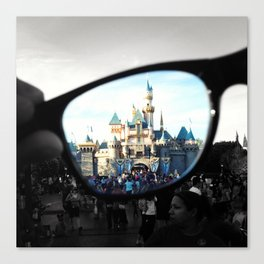 Put Your Imagination Into Focus Canvas Print