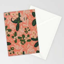 Poppy Pine (pink) Stationery Cards