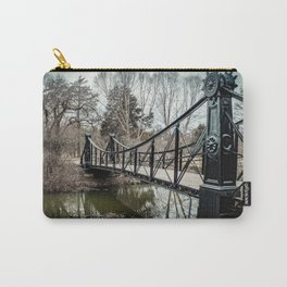 Victorian Bridge in Winter Carry-All Pouch
