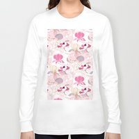 magnolia Long Sleeve T-shirts featuring Magnolia by SURFACE HUG